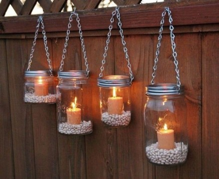 Best Garden Decorate With Some DIY Hanging Lights 42
