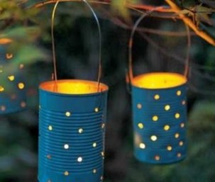 Best Garden Decorate With Some DIY Hanging Lights 46