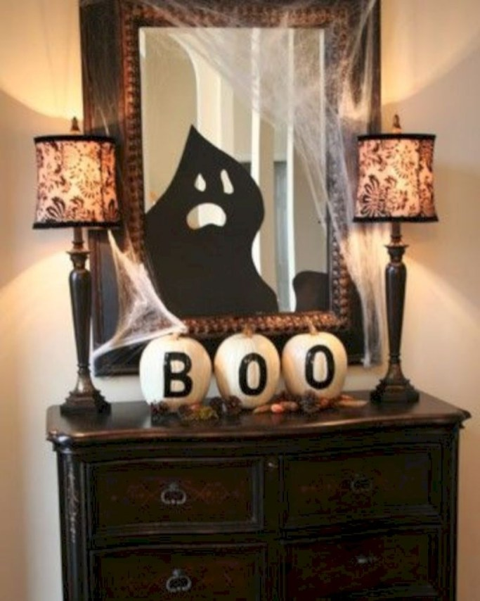 Best Ghost Silhouette DecorIideas To Haunt Your Guests 07