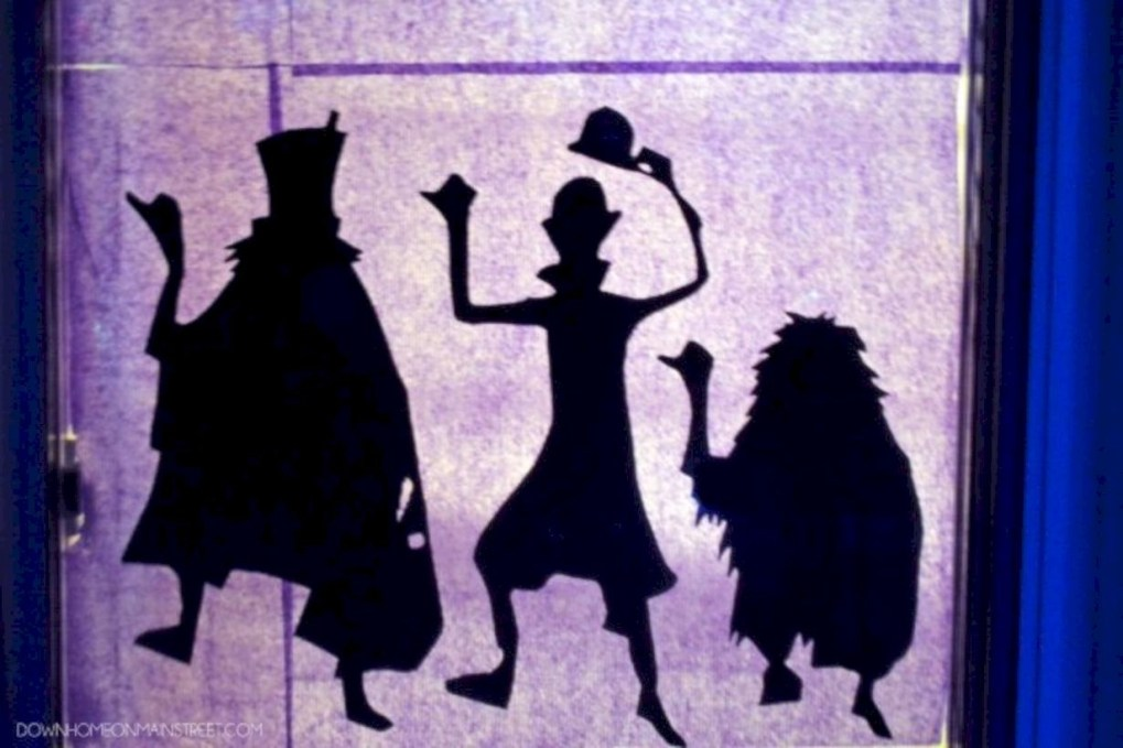 Best Ghost Silhouette DecorIideas To Haunt Your Guests 12