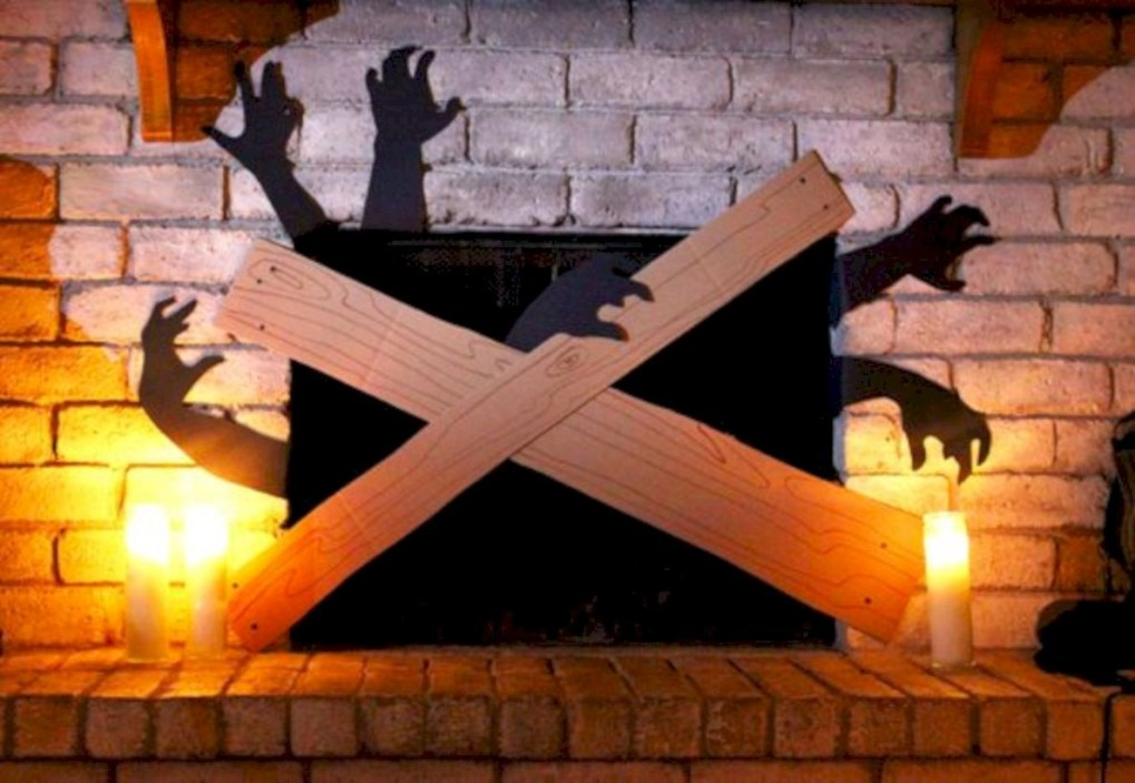Best Ghost Silhouette DecorIideas To Haunt Your Guests 13