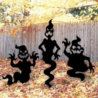 Best Ghost Silhouette DecorIideas To Haunt Your Guests 23