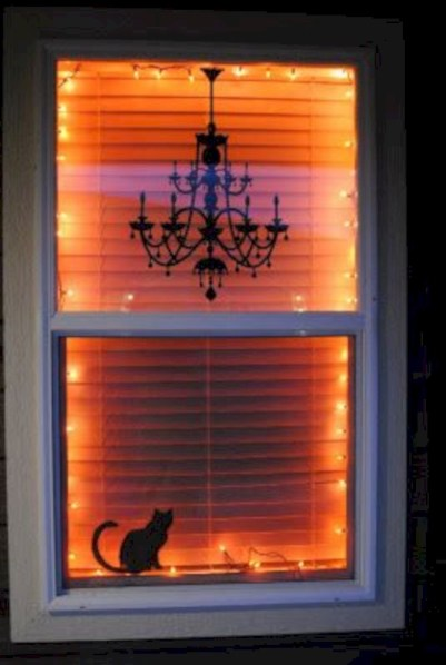 Best Ghost Silhouette DecorIideas To Haunt Your Guests 28
