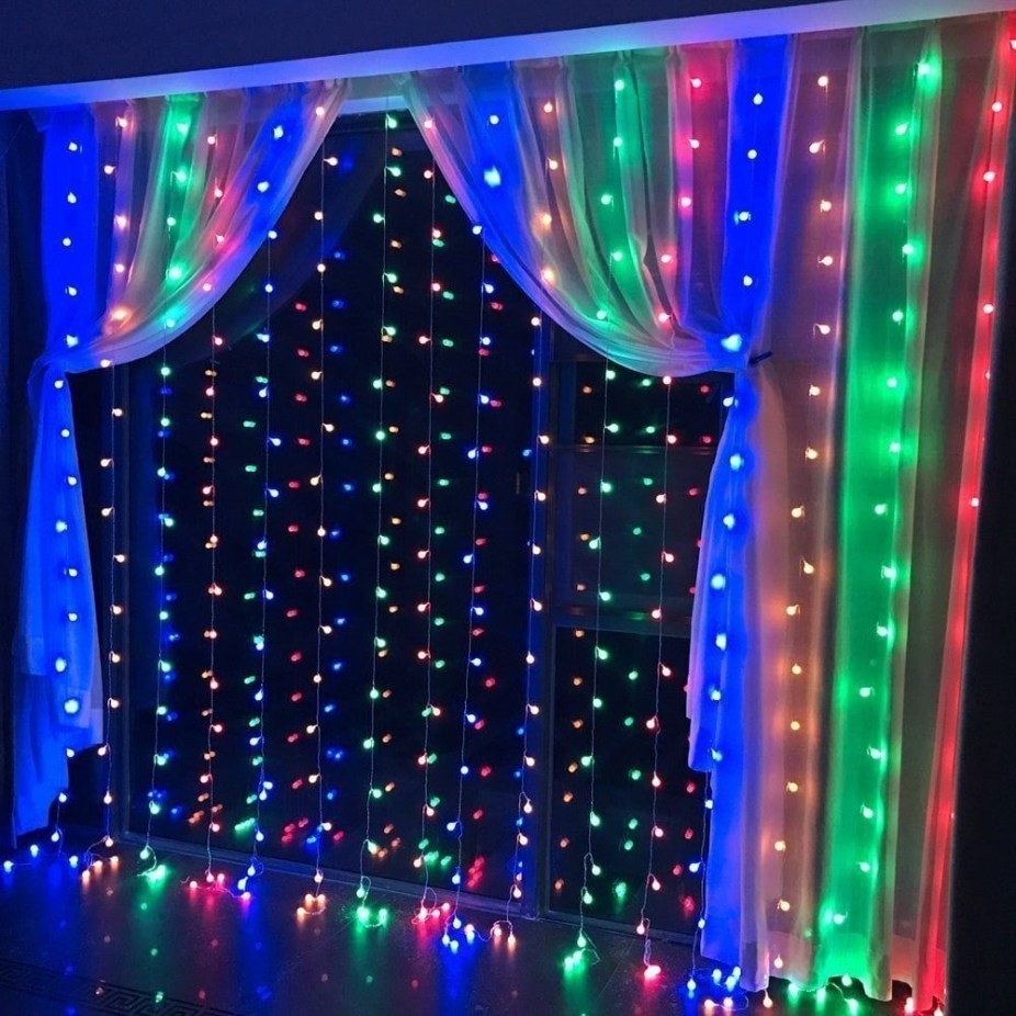 Better Homes And Gardens With Outdoor LED Curtain Lights 02