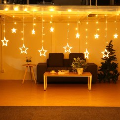 Better Homes And Gardens With Outdoor LED Curtain Lights 15