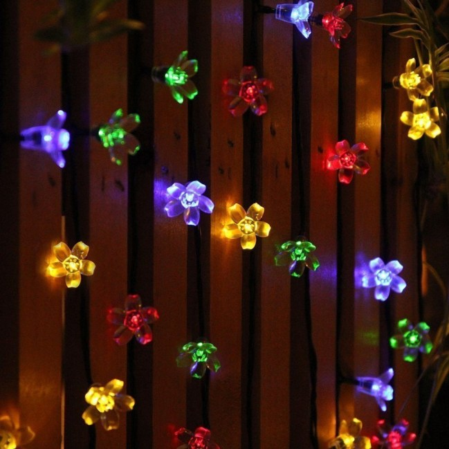 Better Homes And Gardens With Outdoor LED Curtain Lights 29