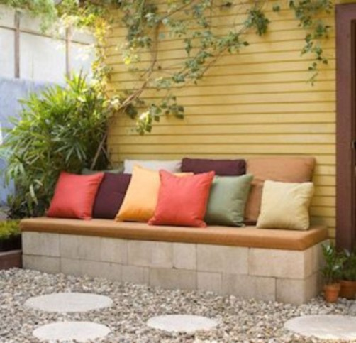 DIY Wood Project For Landscaping Backyard Ideas 15