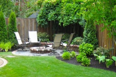 DIY Wood Project For Landscaping Backyard Ideas 27