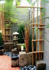 DIY Wood Project For Landscaping Backyard Ideas 34