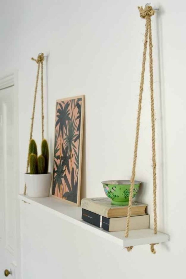 Easy DIY Projects Anyone Can Do For Apartment Decoration 42
