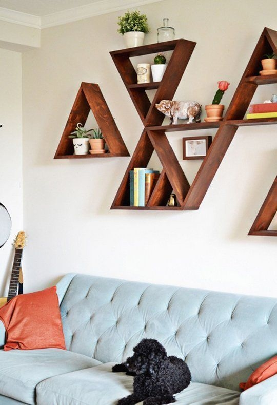 Easy DIY Projects Anyone Can Do For Apartment Decoration 44