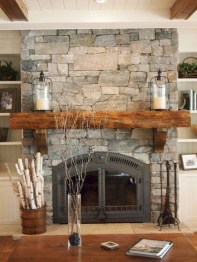 Favorite Winter Decorating For Fireplace Ideas 01