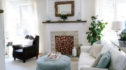 Favorite Winter Decorating For Fireplace Ideas 22