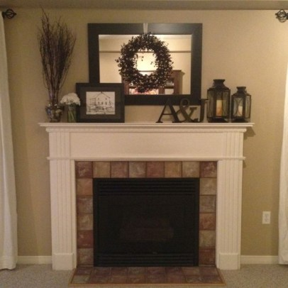 Favorite Winter Decorating For Fireplace Ideas 23