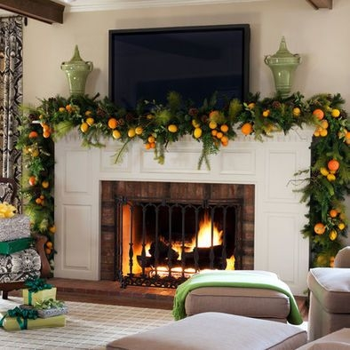 Gorgeous Christmas Mantel For Fireplace Decorate In Your House 05