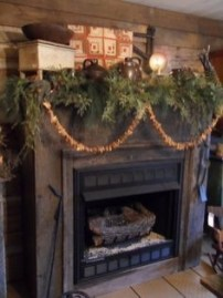 Gorgeous Christmas Mantel For Fireplace Decorate In Your House 39