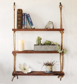 Hanging Shelves Decoration You Can Put In Your Wall 13