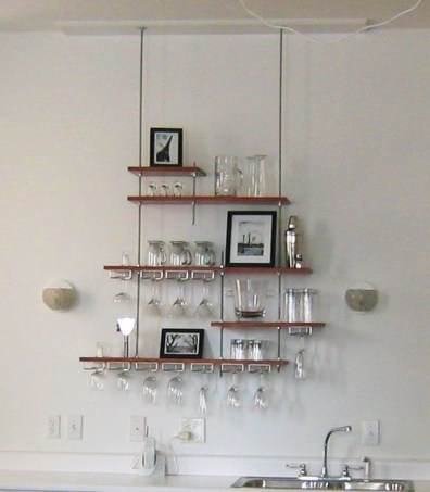 Hanging Shelves Decoration You Can Put In Your Wall 26