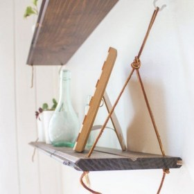Hanging Shelves Decoration You Can Put In Your Wall 28