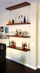 Hanging Shelves Decoration You Can Put In Your Wall 29