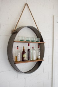 Hanging Shelves Decoration You Can Put In Your Wall 37