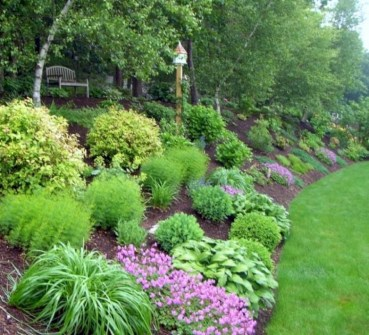 Lovely Landscaping Plans For Your Own Yard 14