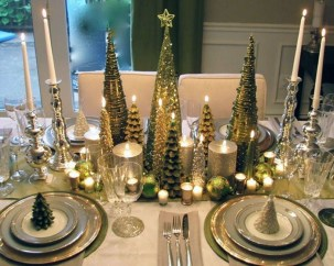 Luxury Christmas Table Decoration For Celebrating Christmas This Year 43