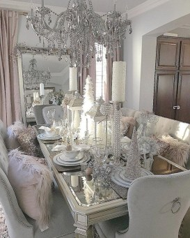Luxury Christmas Table Decoration For Celebrating Christmas This Year 48
