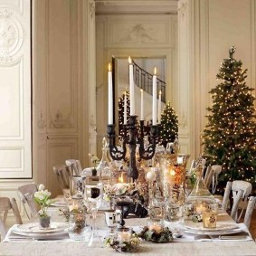 Luxury Christmas Table Decoration For Celebrating Christmas This Year 50