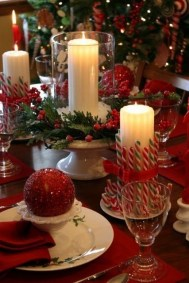 Luxury Christmas Table Decoration For Celebrating Christmas This Year 53