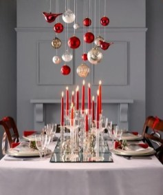 Luxury Christmas Table Decoration For Celebrating Christmas This Year 54