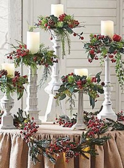 Tips To Make DIY Christmas Table Decorations 42