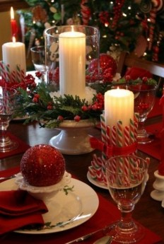 Tips To Make DIY Christmas Table Decorations 44