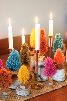 Tips To Make DIY Christmas Table Decorations 46