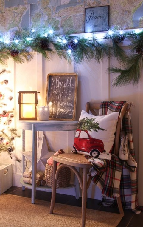 Ways To Use Christmas Light In Your Room 47