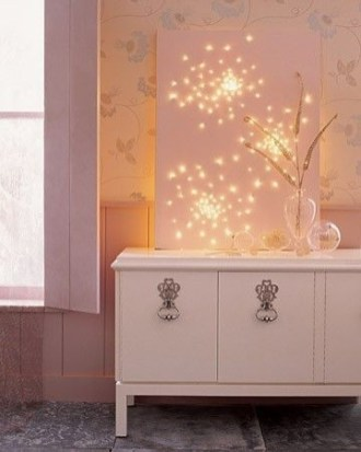 Ways To Use Christmas Light In Your Room 53