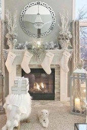 Winter Fireplace Decoration Ideas 14