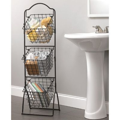 Wire Basket Ideas You Can Make For Storage 07