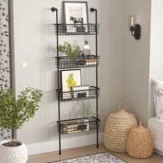 Wire Basket Ideas You Can Make For Storage 16