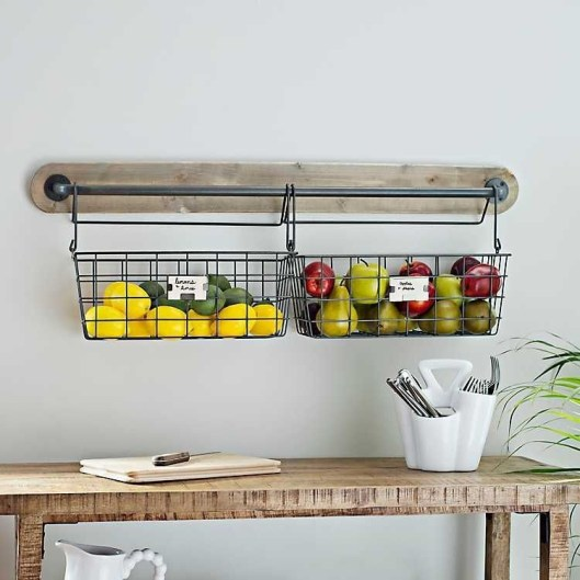 Wire Basket Ideas You Can Make For Storage 27