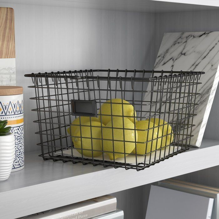 Wire Basket Ideas You Can Make For Storage 28
