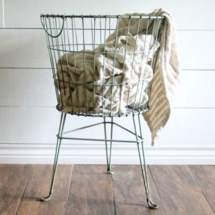 Wire Basket Ideas You Can Make For Storage 35