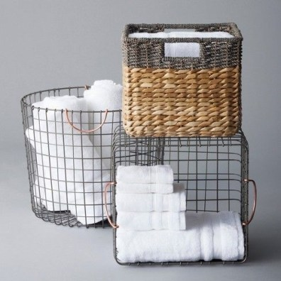 Wire Basket Ideas You Can Make For Storage 40