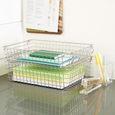 Wire Basket Ideas You Can Make For Storage 45