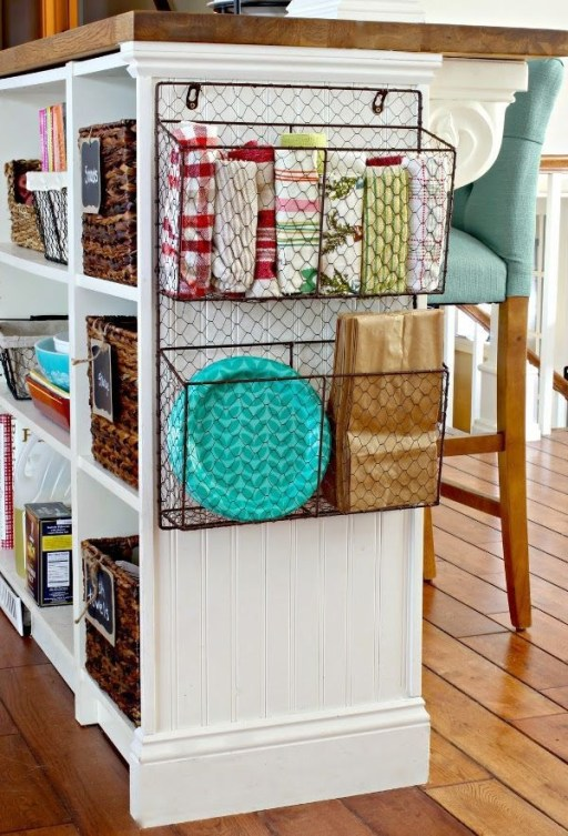 Wire Basket Ideas You Can Make For Storage 47