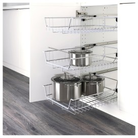 Wire Basket Ideas You Can Make For Storage 51