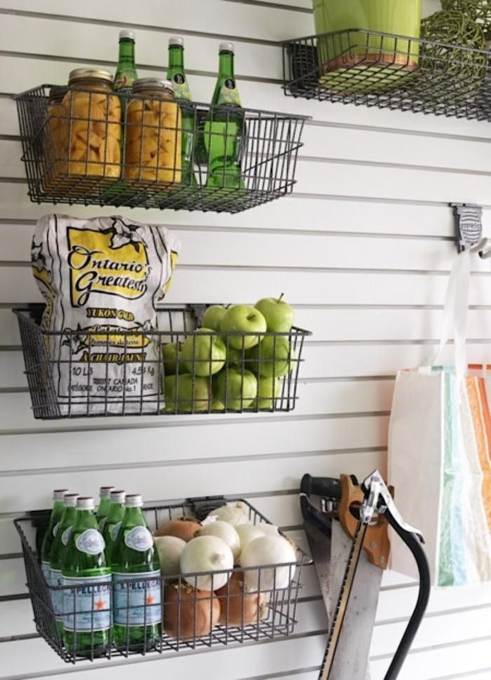 Wire Basket Ideas You Can Make For Storage 57