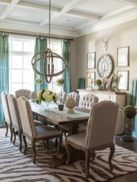Wonderful Dining Room Decoration And Design Ideas 35