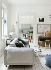 Awesome Scandinavian Style Interior Apartment Decoration 13