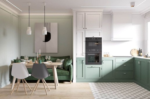 Awesome Scandinavian Style Interior Apartment Decoration 45